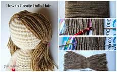 crochet doll hair crochet tutorial