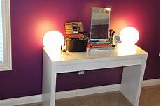 Makeup Vanity With Lights Our Styled Suburban Life Makeup Vanity Lights
