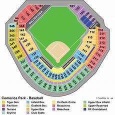 Detroit Tigers Seating Chart With Rows Detroit Tigers Tickets 2018 Detroit Tigers Tickets