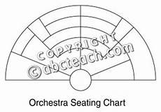 Orchestra Seating Chart Worksheet Clip Art Orchestra Seating Chart B Amp W 1 Blank Abcteach