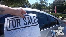 For Sale Sign For Car Putting Quot For Sale Quot Signs On Random Cars Omargoshtv Youtube