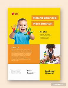 Free Daycare Flyer Templates 20 Daycare Flyer Templates Word Psd Ai Vector Eps