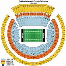 Raiders Tickets Seating Chart Oakland Raiders Season Tickets Theticketbucket Com
