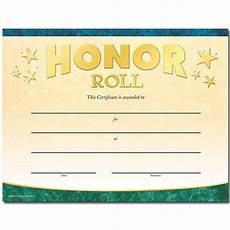Honor Roll Certificate Templates Honor Roll Gold Foil Stamped Certificates Positive