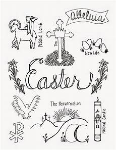 Easter Coloring Pages Printable Religious Look To Him And Be Radiant April 2015
