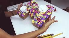letras con flores diy 161 letras decorativas con flores