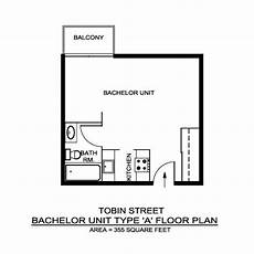 Bachelor Apartment Floor Plan Skyline Towers Locations A R C Management