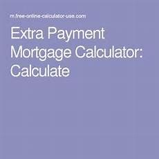 Making Extra Payments On Mortgage Calculator Extra Payment Mortgage Calculator For Time And Interest