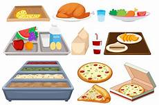 Food Resources Different Types Of Food On Whtie Background Download