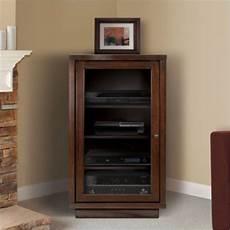 audio component cabinet small media cabinet media
