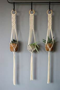 macrame plant hanger macrame plant hangers 38 inch 1 8 inch braided cotton cord