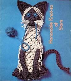 macrame animals macrame pattern book animal cat
