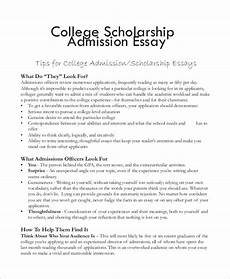 Essay Formats For College College Scholarship Essay Topics Common Prompts For
