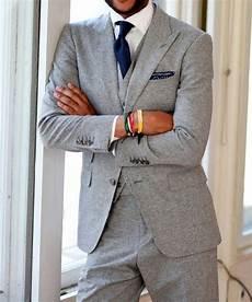 Light Grey 3 Piece Suit 2017 Latest Coat Pant Designs Light Grey Tweed Men Suit