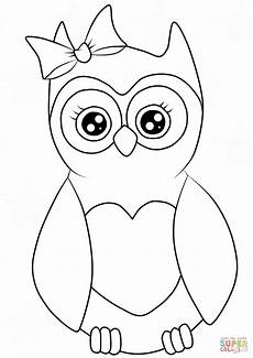 Ausmalbilder Eule Weihnachten Cutest Owl Coloring Page Free Printable Coloring