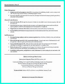 Management Objectives For Resume Simple Construction Superintendent Resume Example To Get