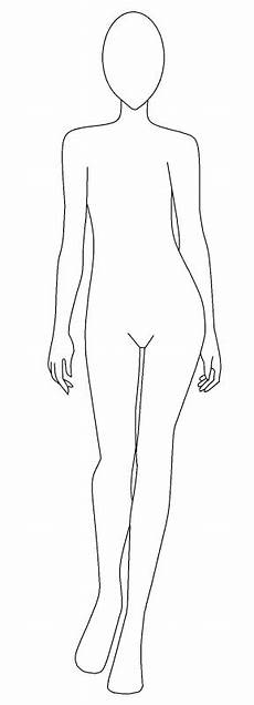 Outline Of A Female Body Template Fashion Design Template Female Shopping Guide We Are
