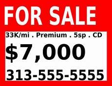 For Sale Sign For Car For Sale Sign Clip Art At Clker Com Vector Clip Art