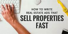 How To Sell Real Estate Property Sold How To Write Real Estate Ads That Sell Properties