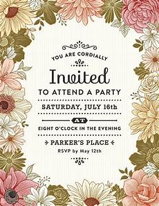 Invite To A Party Wording How To Write A Party Invitation