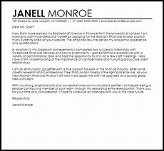 Sample Cover Letter For Finance Manager Position Finance Job Sample Cover Letter Cover Letter Templates