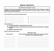 Health Certificate Sample 21 Free Medical Certificate Templates Word Excel Formats