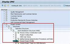 Sap Ps Project Profile