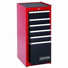 craftsman 6 drawer steel heavy duty bearing side cabinet