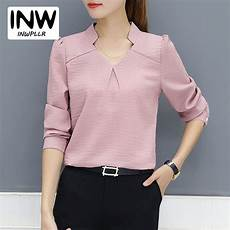 2018 new arrival blouse autumn work wear office