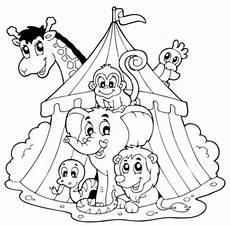 Malvorlagen Gratis Zirkus Kostenlose Ausmalbilder Zirkus Malvorlagentv