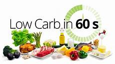 low carb in 60 seconds diet doctor