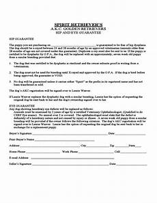 Puppy Contract Of Sale Puppy Sales Contract Form Colorado Free Download