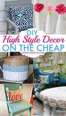 diy projects cheap diy high style decor on the cheap oh my creative