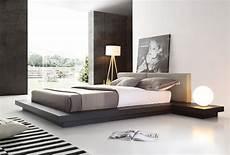 modrest opal modern wenge grey platform bed