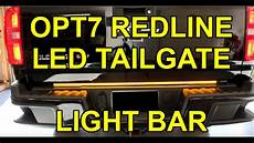 Chevy Colorado Light Bar Install How To Install Opt7 Redline Triple Led Tailgate Light