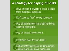 How to pay off debt   Investing Post