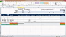 Microsoft Excel Budget Ms Excel Personal Budget Spreadsheets Youtube