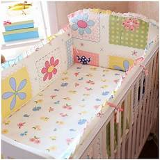 promotion 6pcs baby cot bedding set newborn crib