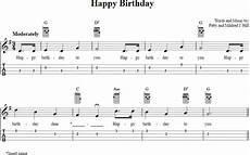 Happy Birthday Ukulele Chords Happy Birthday Ukulele Tab In 2019 Ukulele Songs