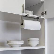 umbra mountie cabinet mounted paper towel holder nickel