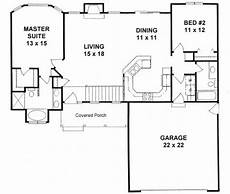 small ranch house plan two plan 1179 ranch style small house plan 2 bedroom split