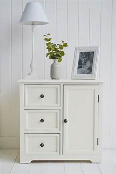 newbury small cabinet with cupboard and three