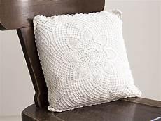 katrinshine vintage crochet pillow