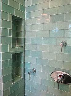 glass subway tile bathroom ideas to da loos 10 shower wall shoo niche style ideas