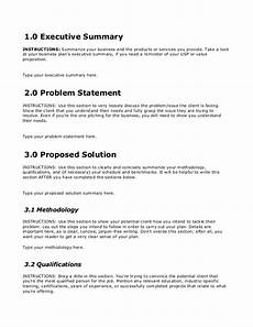 Template For A Business Proposal Business Proposal Template Free Download On Bplans Com
