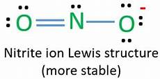 No Ion Lewis Structure Of No2 Nitrite Ion