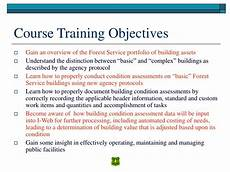 Trainer Objectives Ppt Basic Building Condition Assessment Part 1