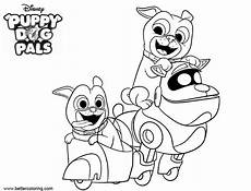 Bingo Coloring Pages Puppy Dog Bingo Characters Coloring Pages Free Printable