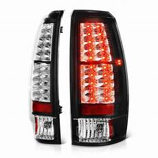 Led Lights For Avalanche 07 13 Chevy Avalanche Euro Style Led Lights Black