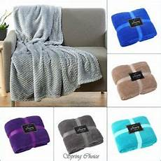 new luxury popcorn throws fleece warm large sofa